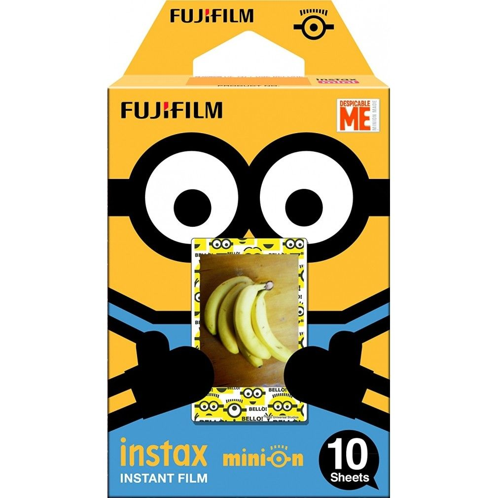 Fujifilm Instax Minion Instant Film Standard Version - 10 Exposures