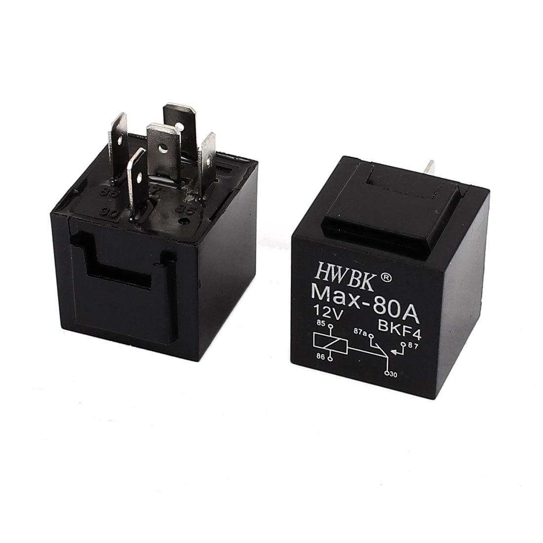 Accesorios Para Auto Universal 12V 80A 5Pin SPDT alimentación relé PCB tipo 2pcs + Unique en Veo y Compro