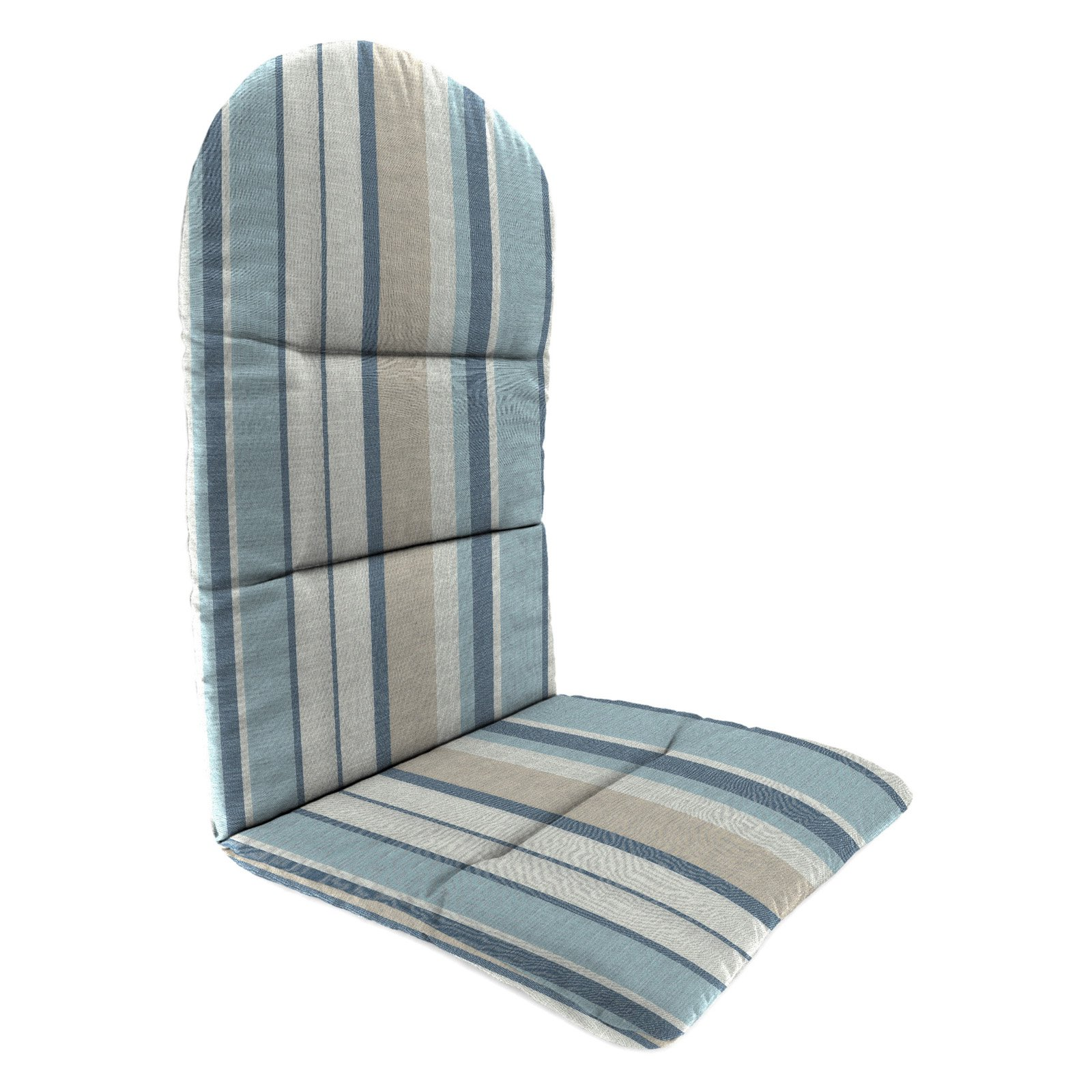 Jordan Manufacturing 49 in. Knife Edge Outdoor Adirondack Chair Cushion - Fullerton Opal