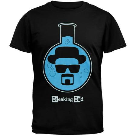 Breaking Bad - Heisenberg Lab Flask T-Shirt