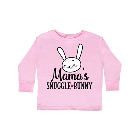 Mama Easter Bunny Rabbit Toddler Long Sleeve T-Shirt (Mama Bunny)