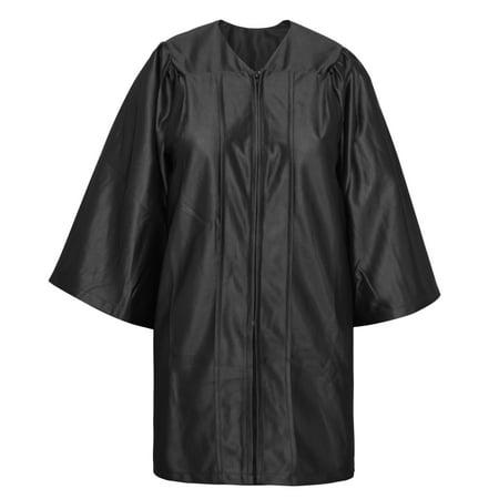 Toptie Economy Unisex Black Graduation Gown Only Size 39