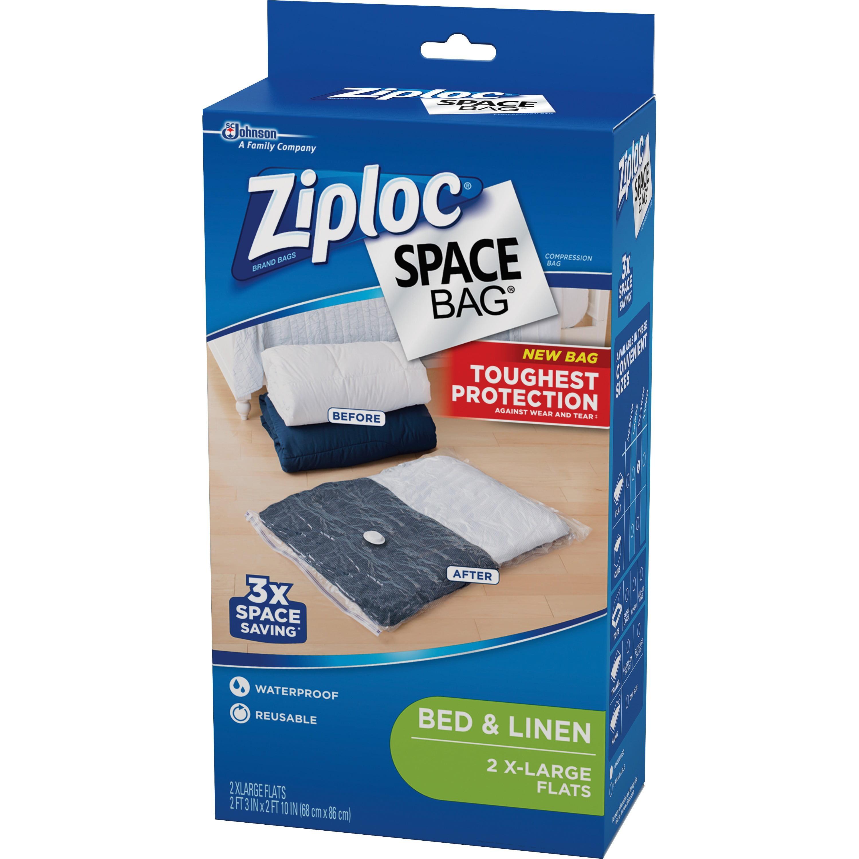 Ziploc Extra Large E Bag Vacuum Seal Bags 2 Piece