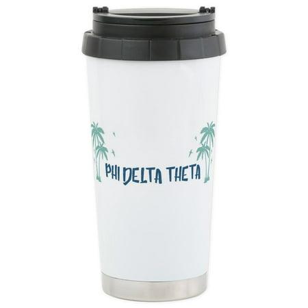 CafePress - Phi Delta Theta B - Stainless Steel Travel Mug, Insulated 16 oz. Coffee Tumbler