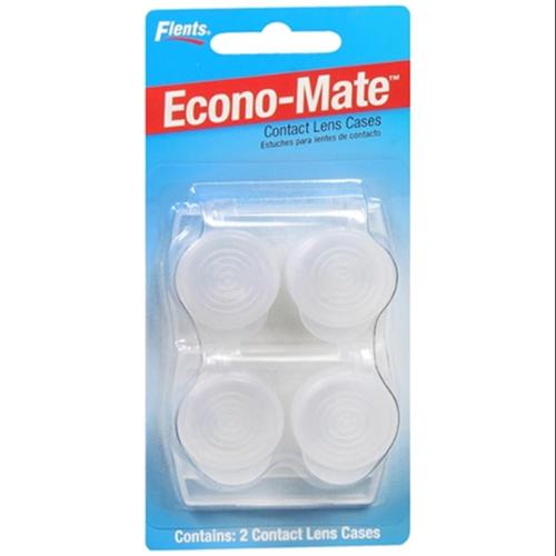 Flents Econo-Mate Contact Lens Cases #1010 2 Each (Pack of 6)