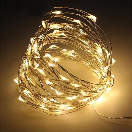 100 Led Battery Ed Copper Wire Fairy String Light Christmas Waterproof