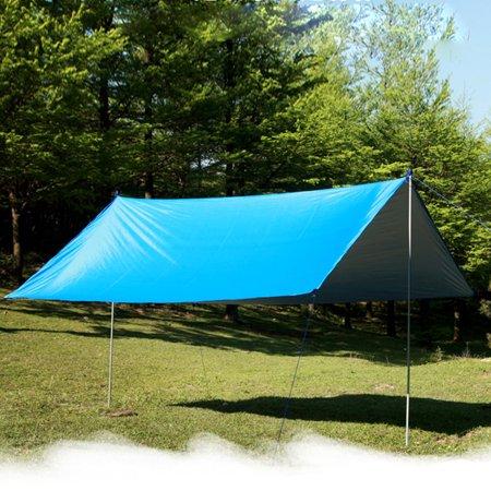 Outdoor Multifunctional Waterproof and Sunproof Beach Awning Tent Lightweight Damp Proof Mat Rain Shelter