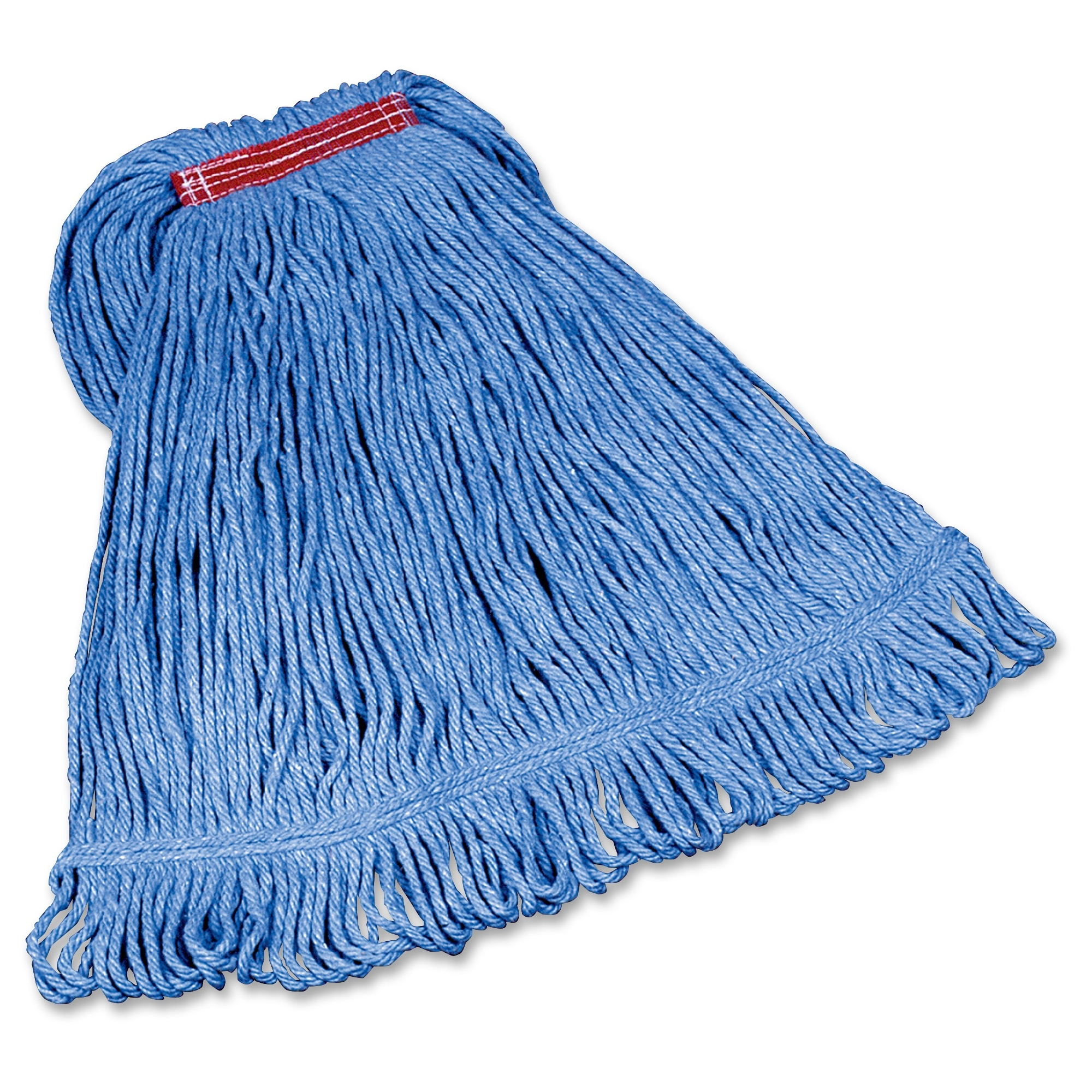 Rubbermaid Commercial Super Stitch Large Blend Mop - Cotton, Synthetic Yarn (d21306bl00ct)