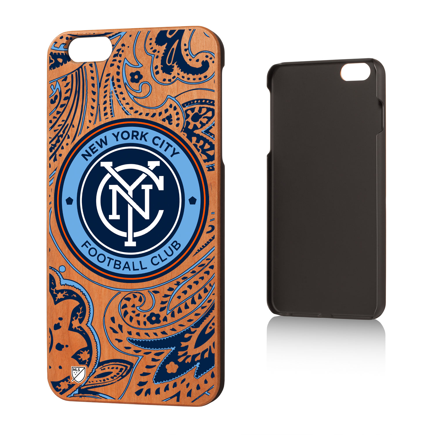 New York City FC NYCFC Paisley Cherry Case for iPhone 6 Plus