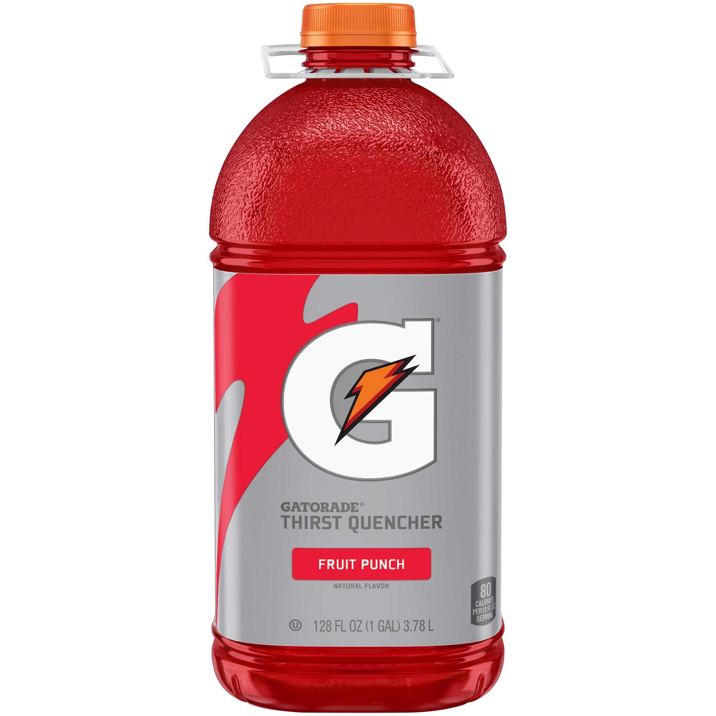 Gatorade; G Series; Thirst Quencher Sports Drink, Fruit Punch, 128 fl oz Bottle