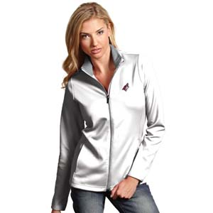 Arizona Coyotes Womens Leader Jacket (Color: White)