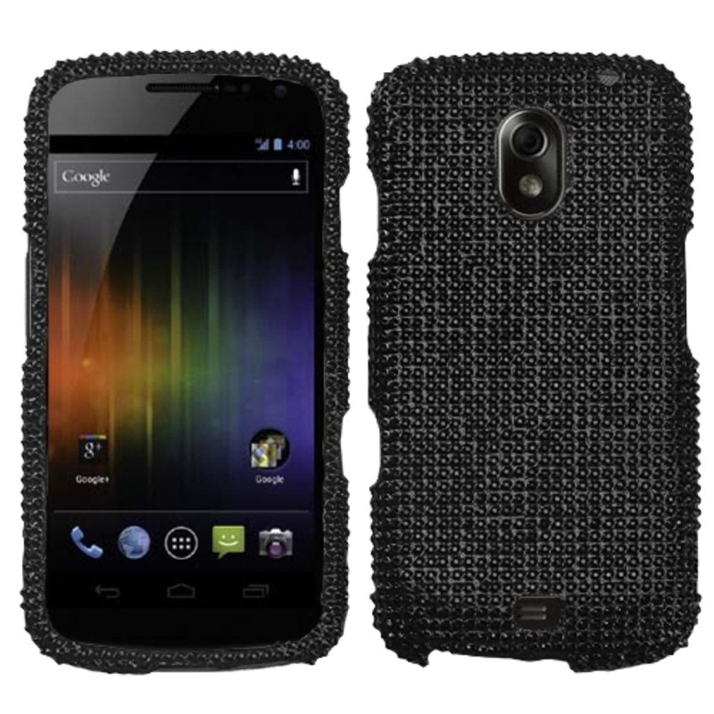 Insten Black Diamante Case (Diamante 2.0) for SAMSUNG: i515 (Galaxy Nexus)