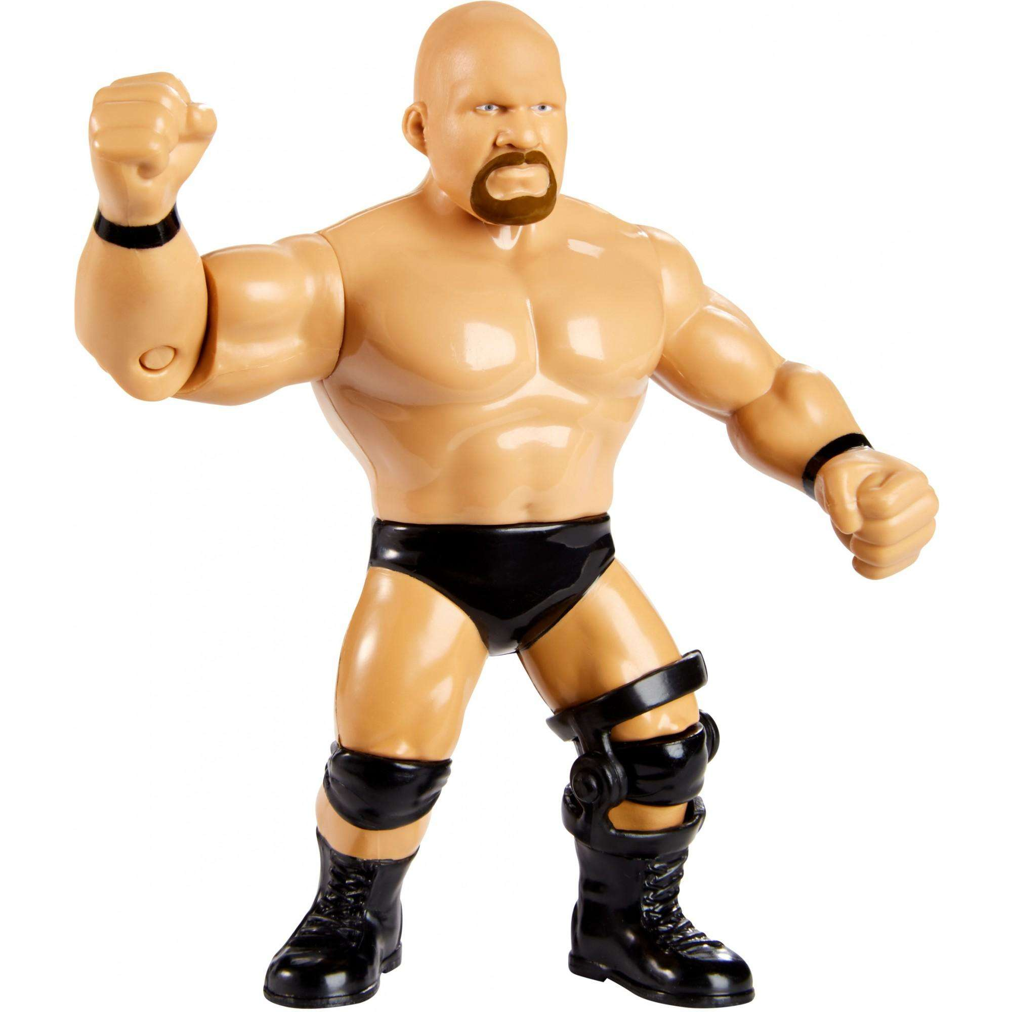 "WWE ""Stone Cold"" Steve Austin Retro Action Figure by Mattel, Inc."