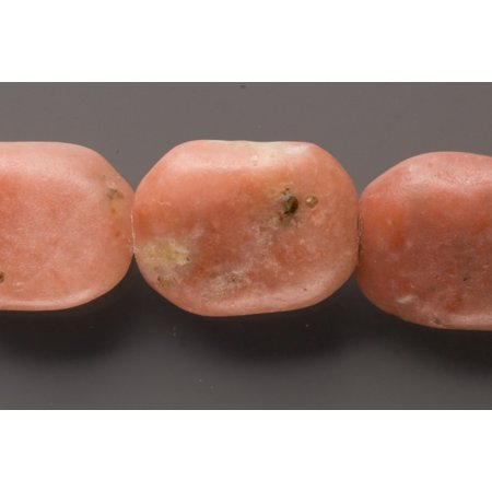 Faceted Rhodonite Emerald Cutted Beads Semi Precious Gemstones Size: 21x16mm Crystal Energy Stone Healing Power for Jewelry Making