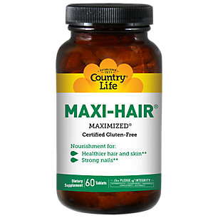COUNTRY LIFE - Maxi-Hair Time Release - 60 Tablets