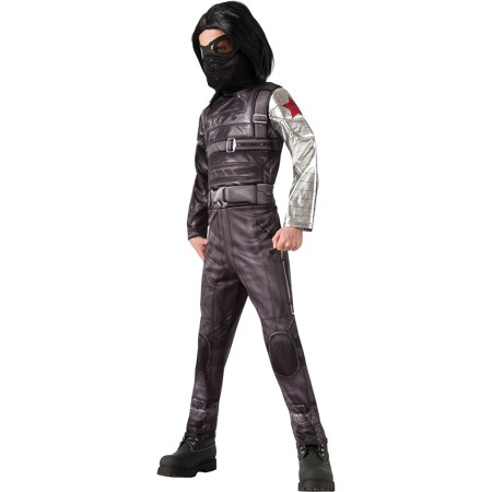 Deluxe Captain America 2 Winter Soldier Child Halloween Costume