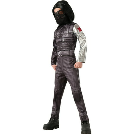 Deluxe Captain America 2 Winter Soldier Child Halloween Costume - Captain America Winter Soldier Costume For Sale