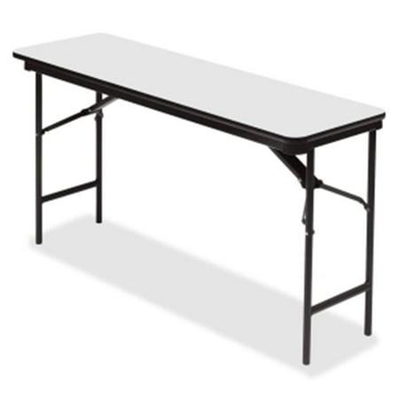 18 x 60 in. Premium Wood Laminate Folding Table,