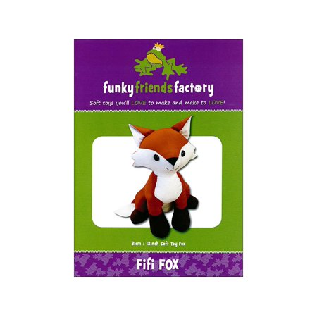 Funky Friends Factory Fifi Fox Ptrn