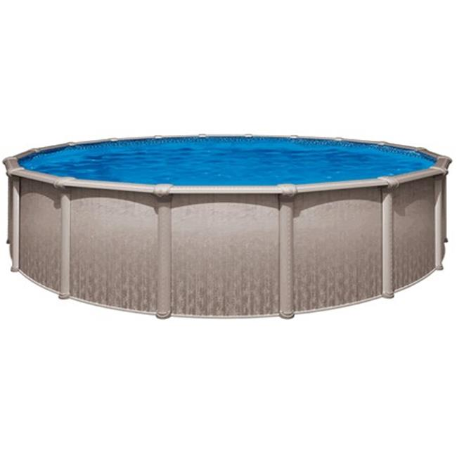 Wil-Bar International PHER2752SSPSRH1 Heritage 27 ft. Round 52 in. Steel Above Ground Pool by Wilbar International
