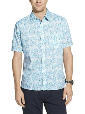 Geoffrey Beene Men's Big and Tall Short Sleeve Shirt