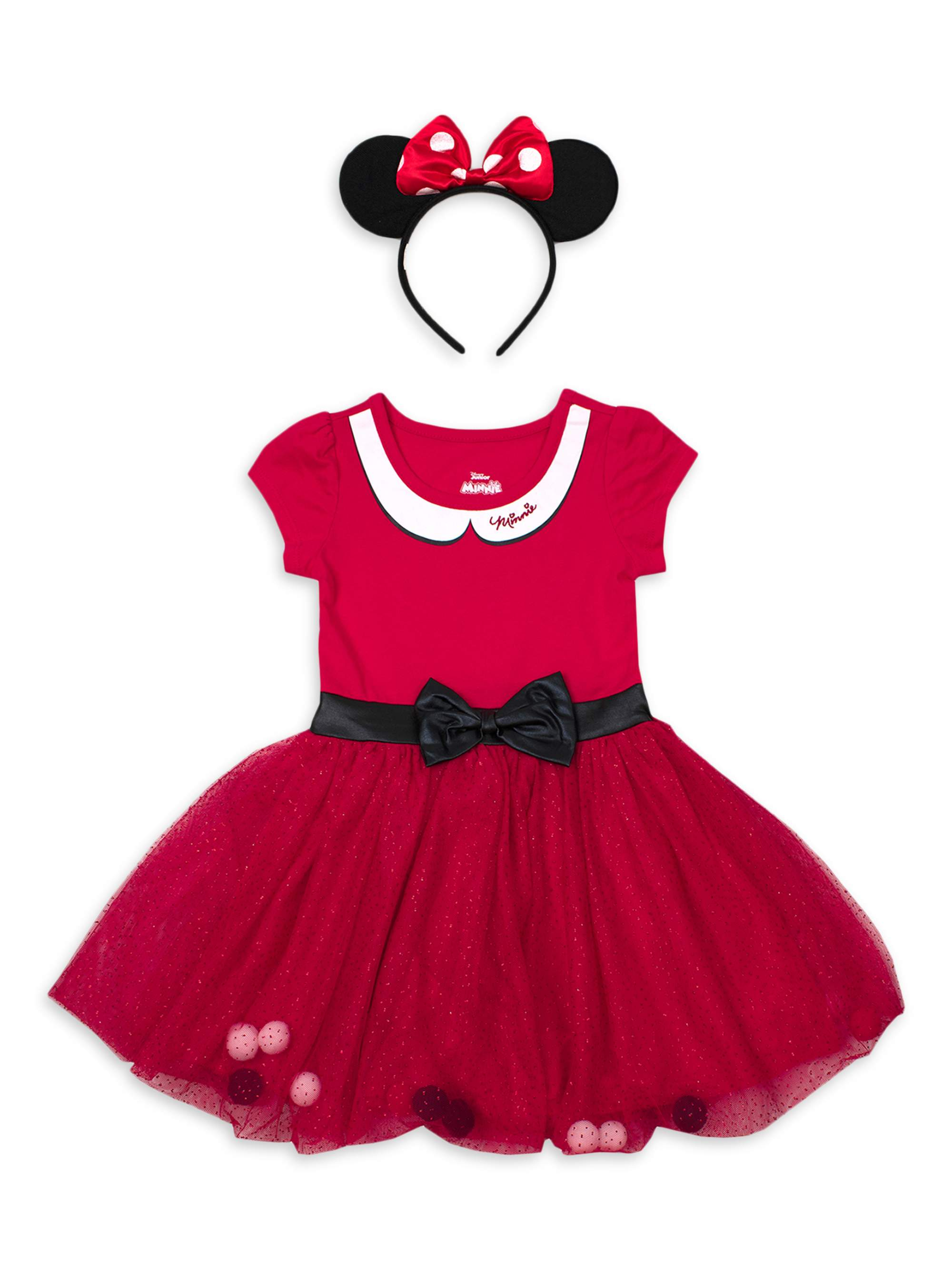 MINNIE MOUSE DISNEY HIGH QUALITY COSPLAY COSTUME ANY TIME DRESS FREE SHIP
