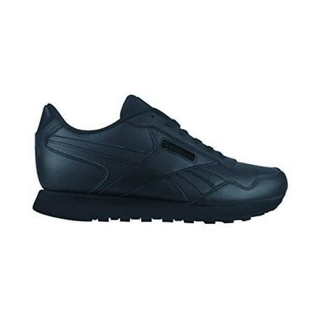 Reebok Mens Classic Harman Run Sneaker, Adult, Black/Black ()