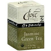 *****DISCONTINUED****Choice Organic Teas Organic Jasmine Green Tea, 16ct (Pack of 6)