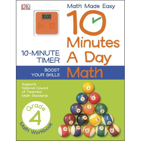 10 Minutes a Day: Math, Fourth Grade : Supports National Council of Teachers Math - Halloween Math Lessons 4th Grade