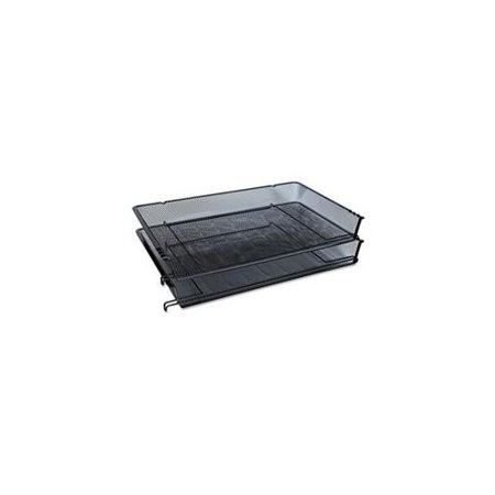 Universal® Deluxe Mesh Stacking Side Load Tray (Desk Accessory Front Load Stacking)