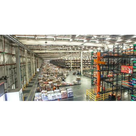 Us Distribution Center - Canvas Print Logistics Distribution Distribution Center Stretched Canvas 10 x 14
