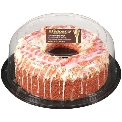 The Bakery At Walmart Strawberry Creme Cake, 32 oz