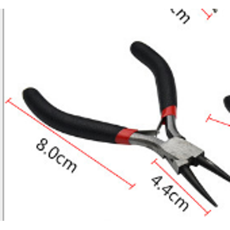 Precision Jewelers Tool 9 Types Diy Tooth Needle Round/Peaky Nose Pliers  Cutting Tools Kit For Jewelry Making