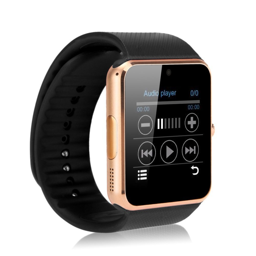 T6 Smart Watch Bluetooth Wrist Watch with Camera For Android iPhone Smart...
