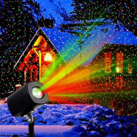 Christmas Lights, Laser Lights, Christmas Projector Lights Landscape Spotlights Waterproof Outdoor Xmas Light for Halloween Patio Yard Garden - Easy Halloween Yard Decorations+homemade