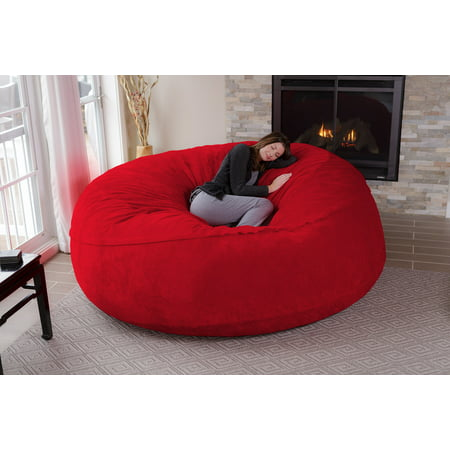 Marvelous Chill Sack Huge 8 Ft Bean Bag Multiple Colors Fabrics Gmtry Best Dining Table And Chair Ideas Images Gmtryco