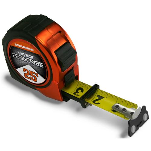 25-foot Magnetic Savage Proscribe Tape Measure