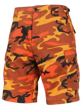 Product Image Rothco Colored Camo BDU Shorts - Savage Orange Camo 80a1ffba28f