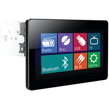 "Power Acoustik PD-103B Single Din 10.3"" Touchscreen LCD Bluethooth Car Stereo Receiver by"