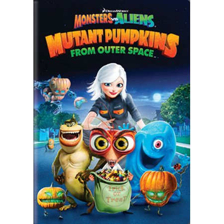 Monsters vs. Aliens: Mutant Pumpkins from Outer Space (DVD) - Aliens From Men In Black