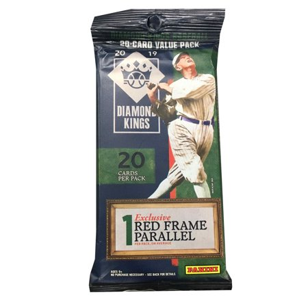 2019 Panini Diamond Kings Baseball Fat Pack- 20 Trading Cards per Pack |1 Exclusive Red Parallel |Find Autographs 1999 Victory Autographed Card