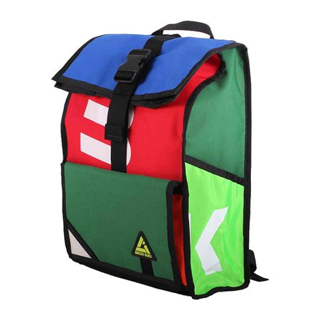 Green Guru Gear Joyride Roll Top Backpack - G1106