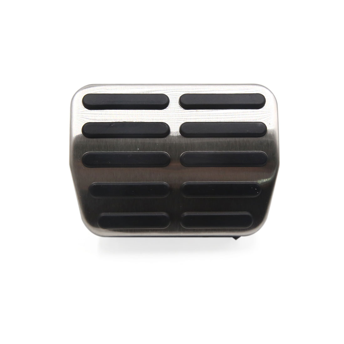 3Pcs Accelerator Brake Foot Footrest Rest Pedals Pad Set for Volkswagen Sagitar - image 2 de 3