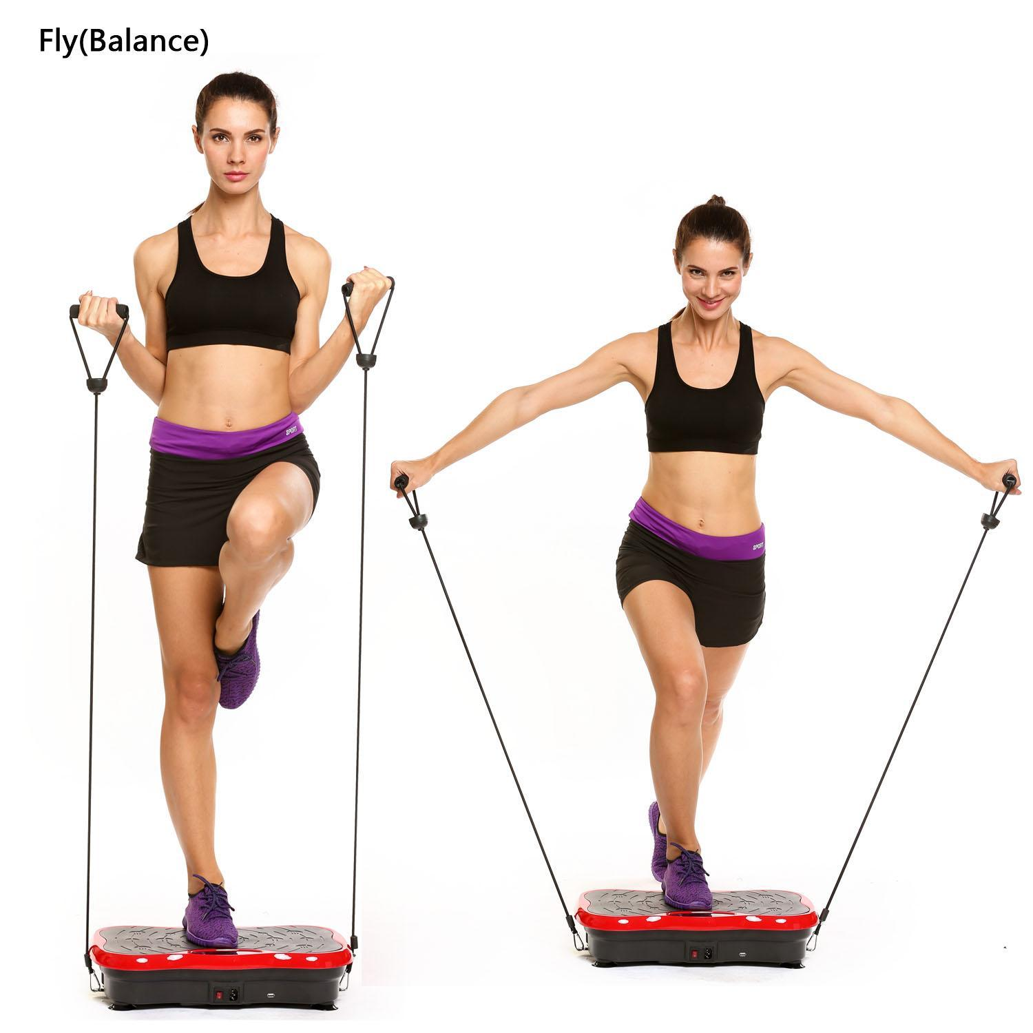 BETT Whole-body Platform Fitness Vibration Machine Workou...
