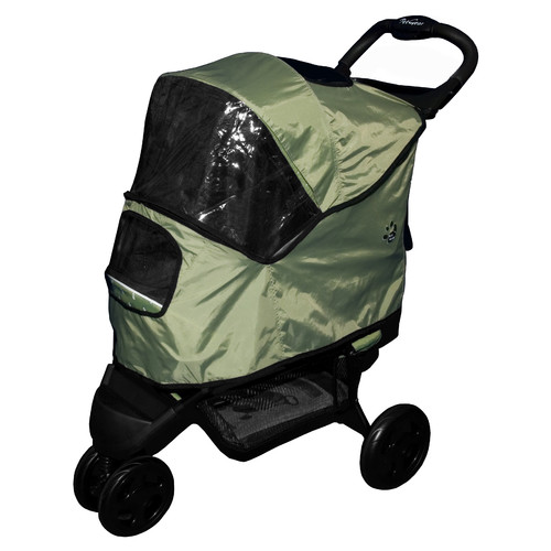 Weather Cover For Special Edition Pet Stroller-Color:Sage