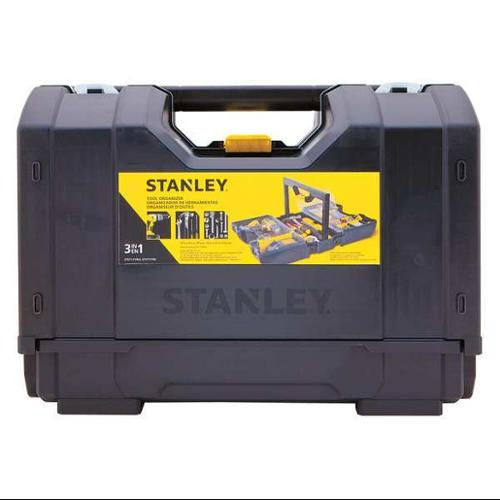 Stanley 16-13/16, Tool Organizer, Hand Carry, Plastic, Black, STST17700