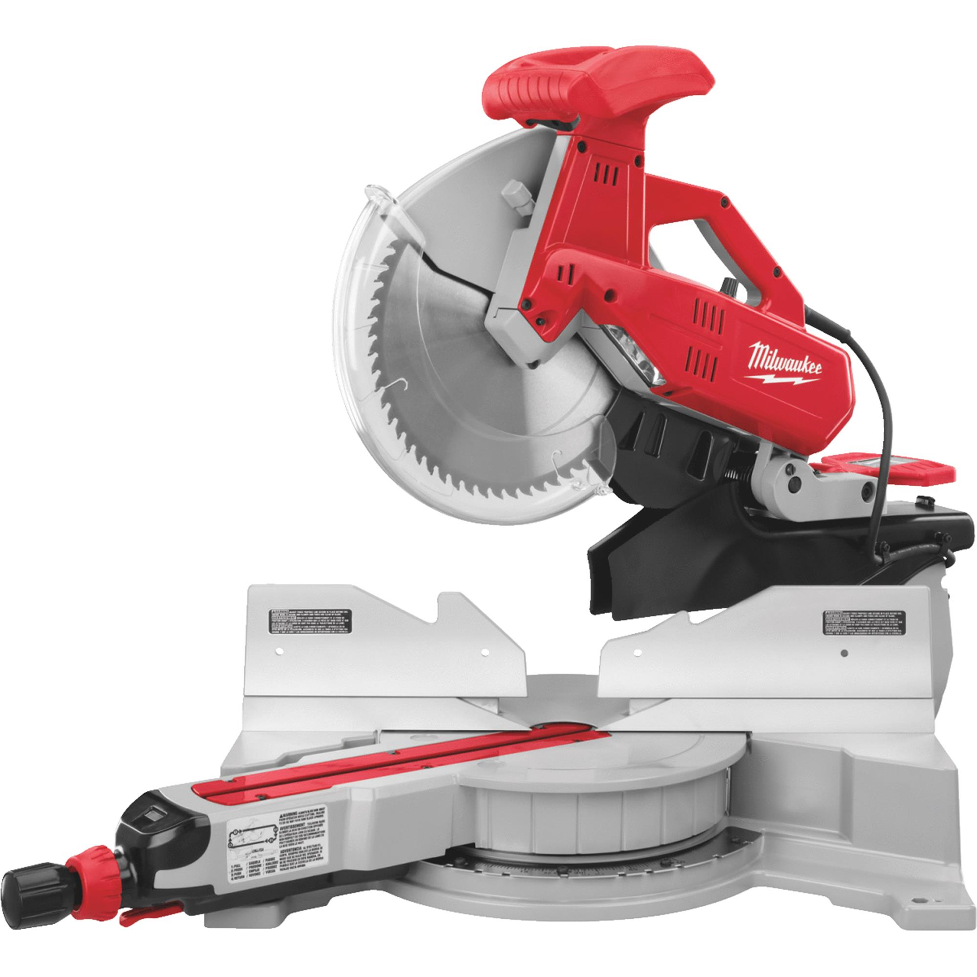 Milwaukee 12 In. Dual-Bevel Sliding Compound Miter Saw by Milwaukee Elec.Tool