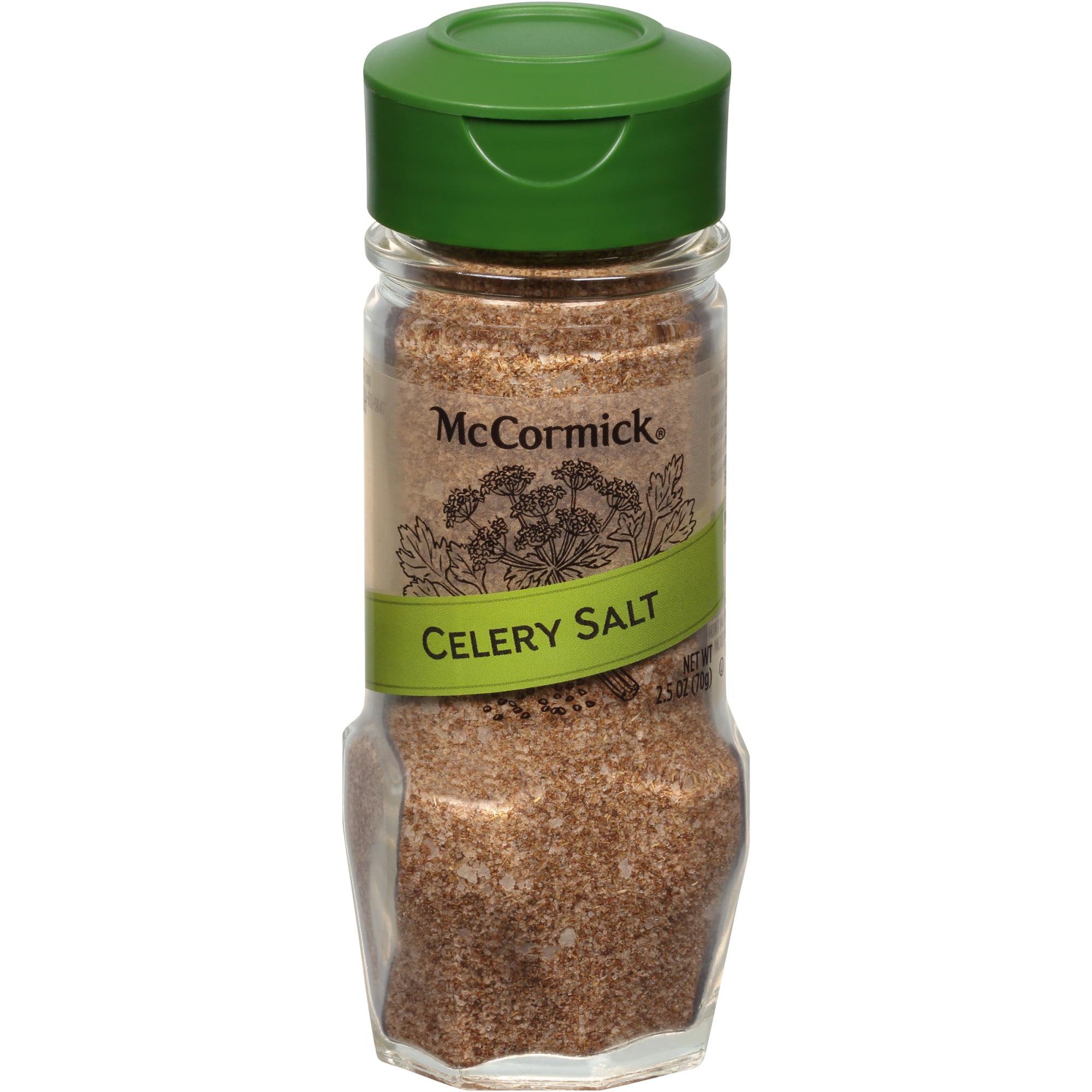 Mccormick Gourmet Celery Salt 2 5 Oz Walmart Com Walmart Com