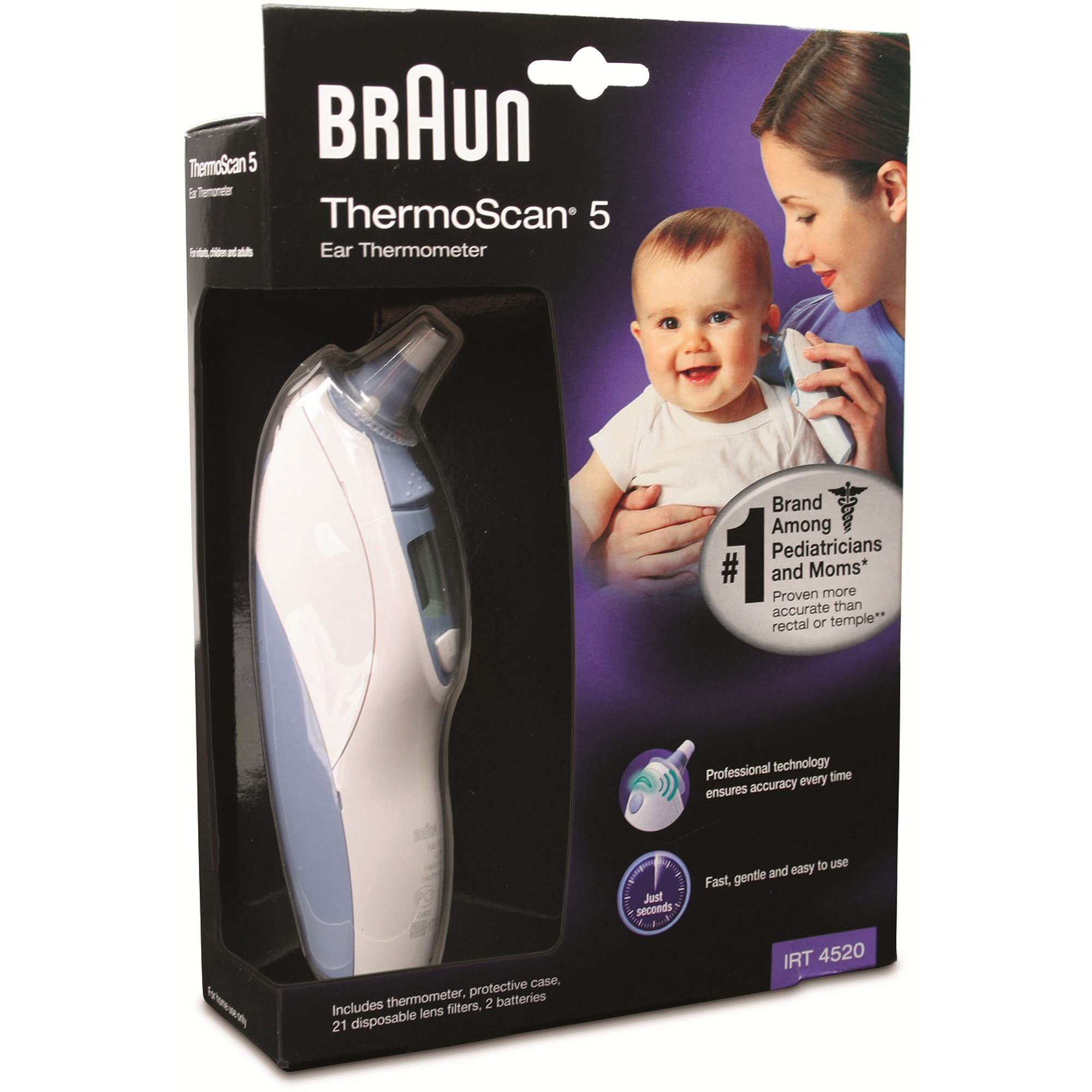 Braun Ear Thermometer IRT4520US