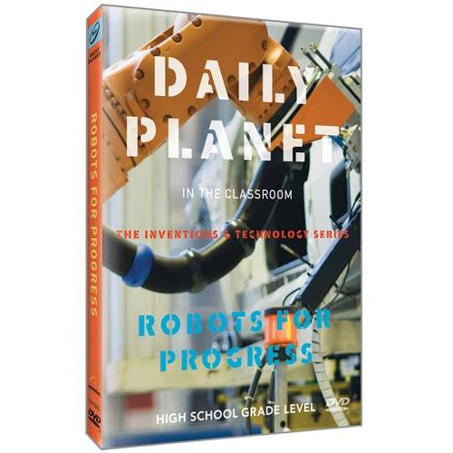 Daily Planet: Robots For Progress